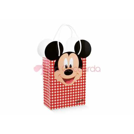 Shopper Box c/cordini Mickey