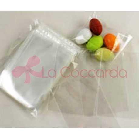 Busta trasparente piatta per alimenti cm 4x7